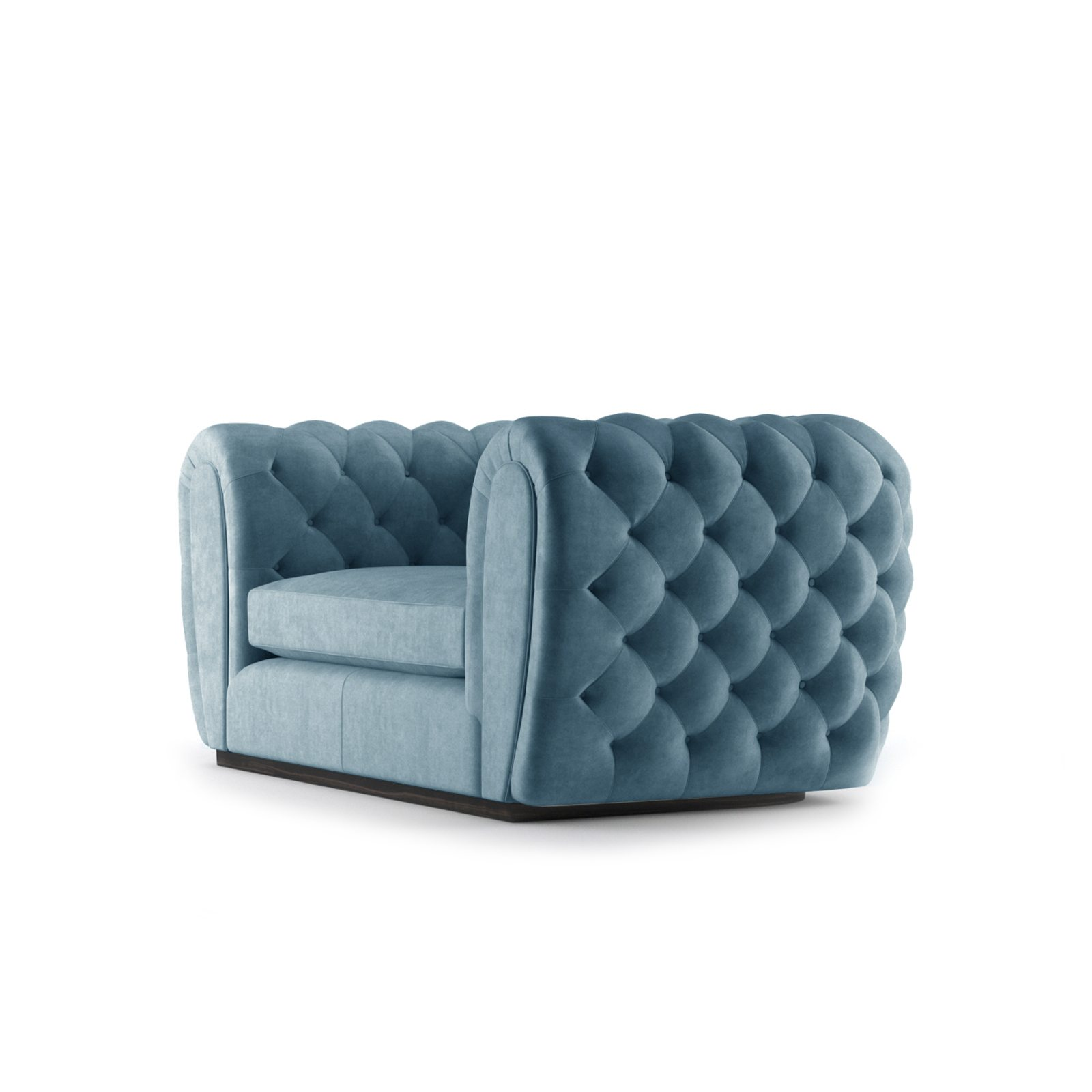 Olivier Two Seater Sofa by Bonham & Bonham Teal 03
