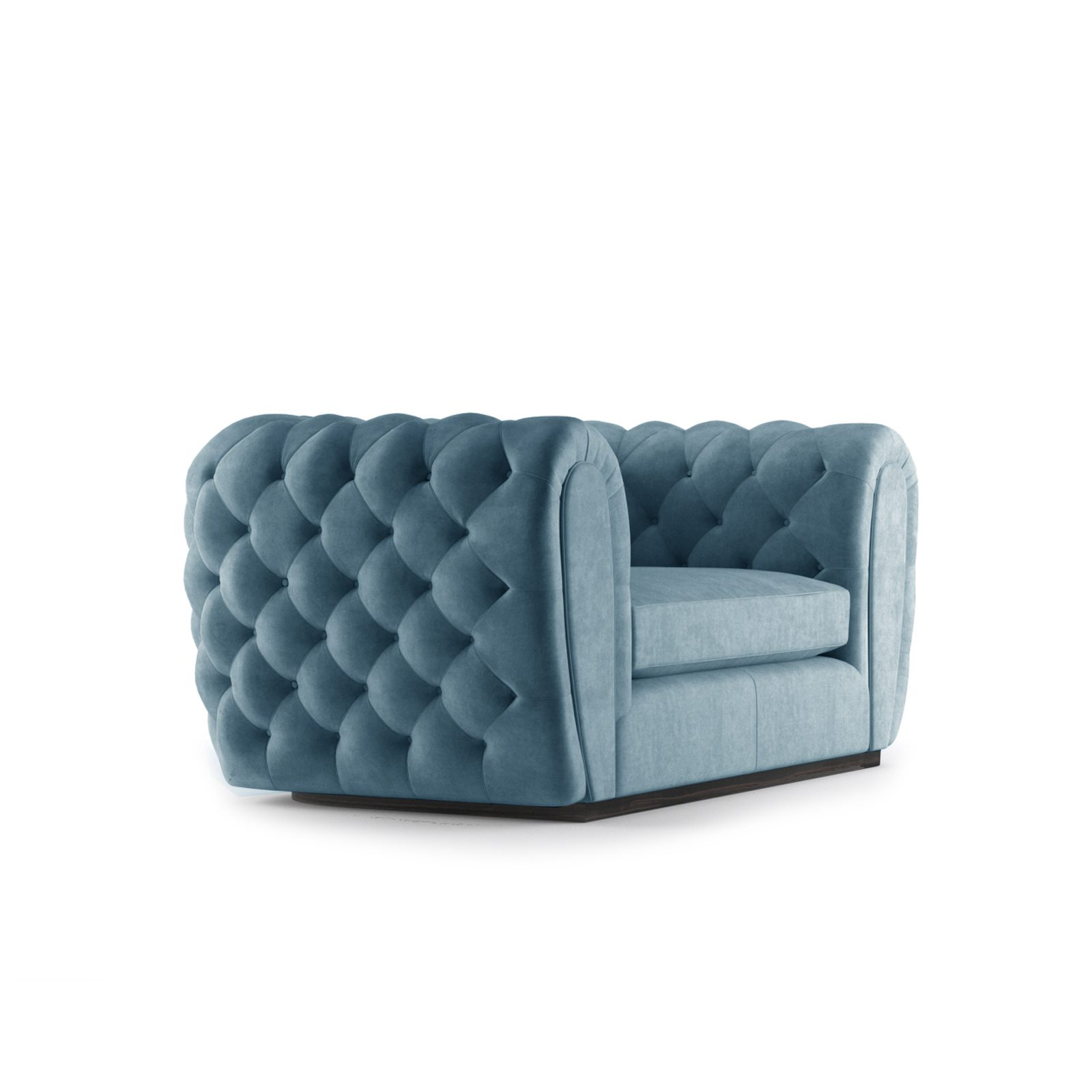 Olivier Two Seater Sofa by Bonham & Bonham Teal 11