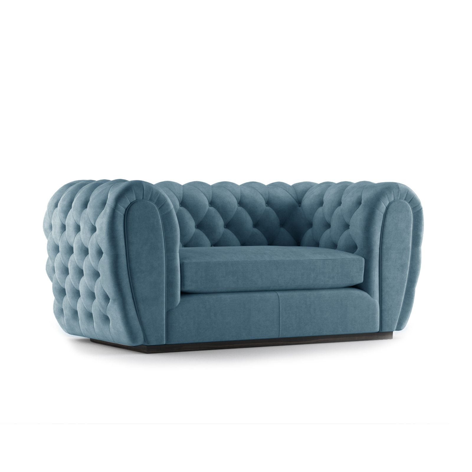 Olivier Two Seater Sofa by Bonham & Bonham Teal 12