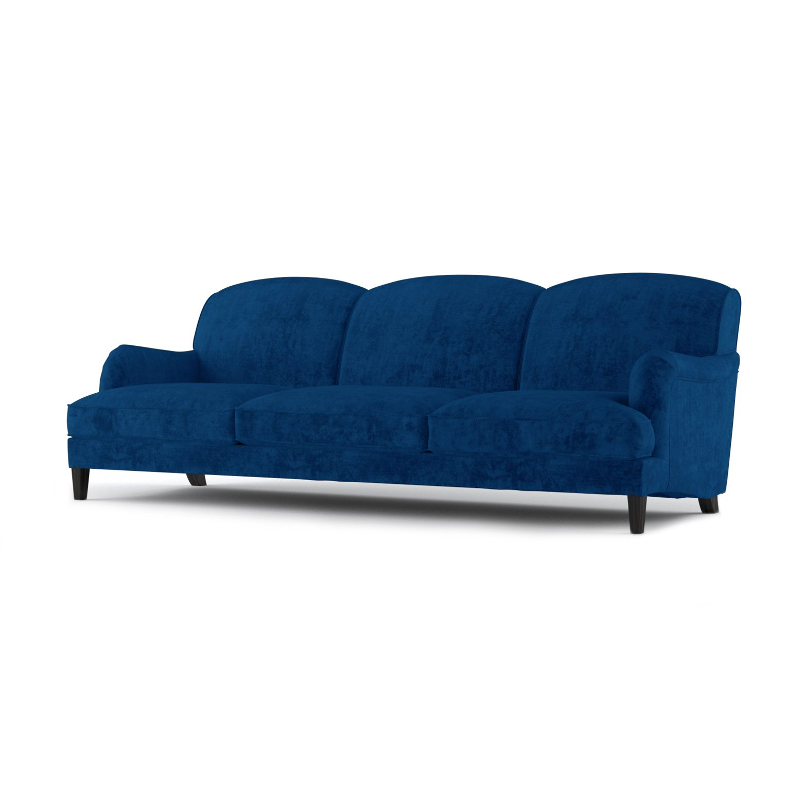 Windsor Three and a Half Seater Sofa by Bonham & Bonham Blue 02